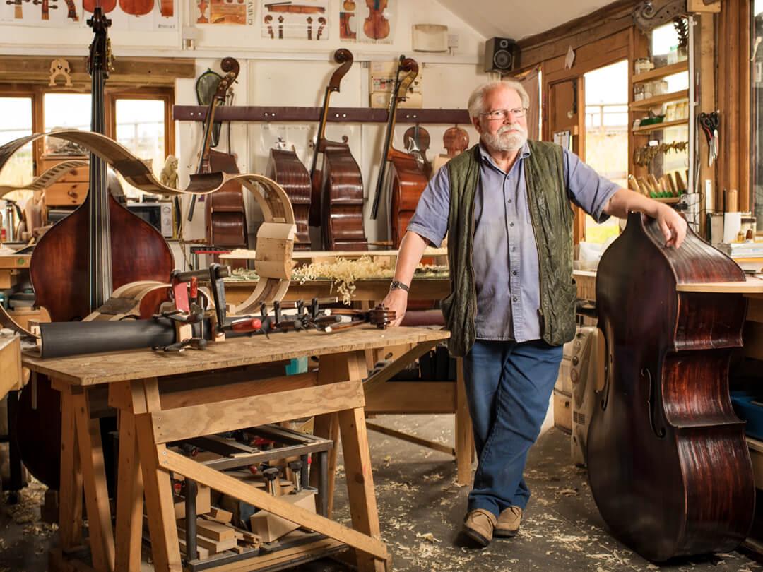 Thomas Martin | Double Bass Luthier