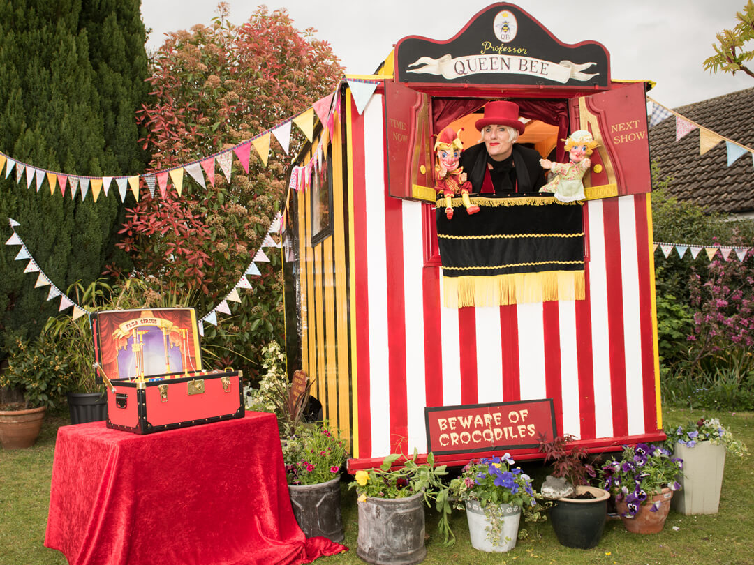 Professor Queen Bee | Punch and Judy