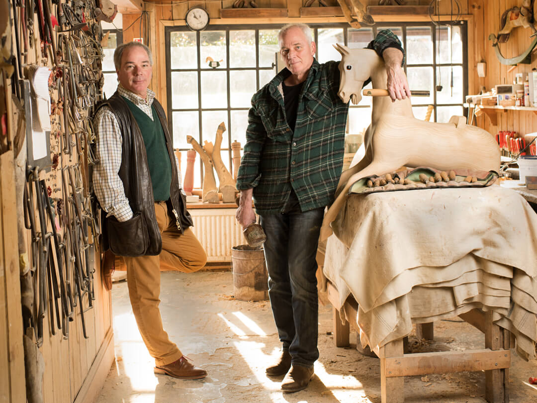 Stevenson Brothers | Rocking horse makers