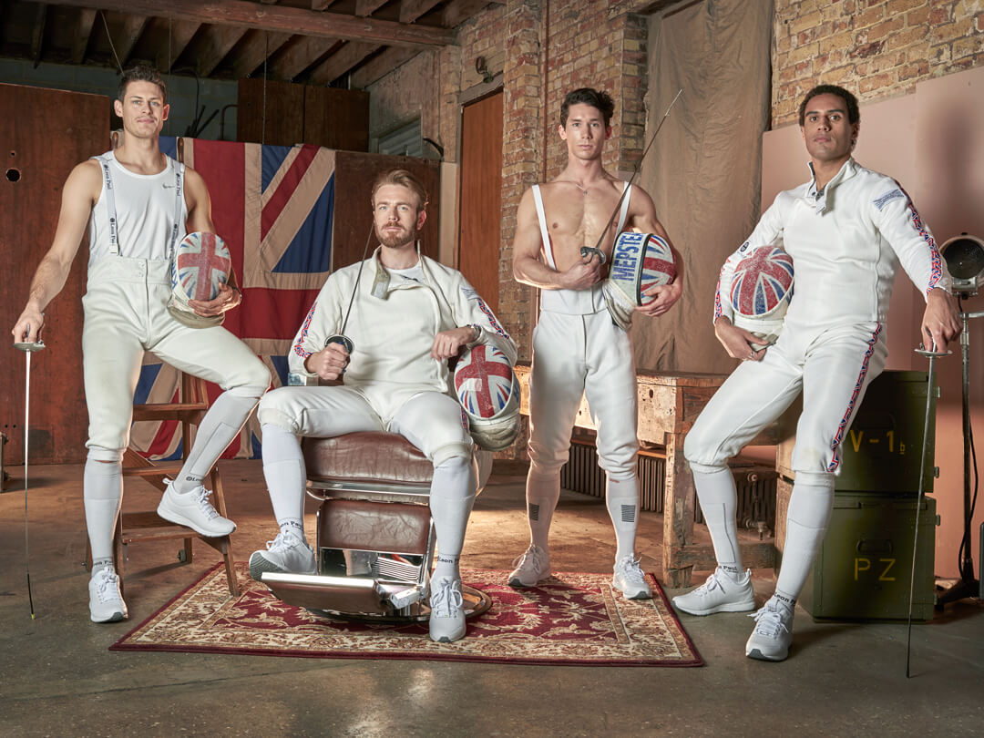 Team GB Fencing Team